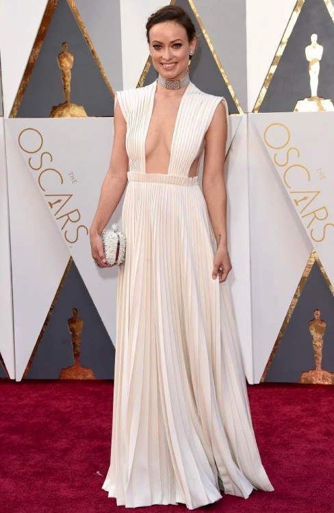 Olivia Wilds at the 88th Annual Academy Awards