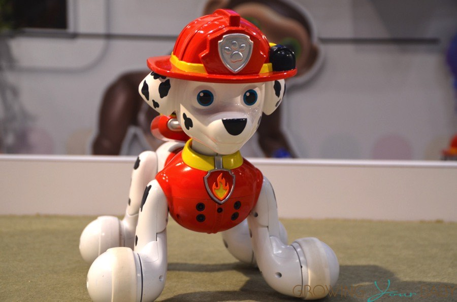 Paw Patrol Interactive Zoomer Marshall Dog Growing Your Baby
