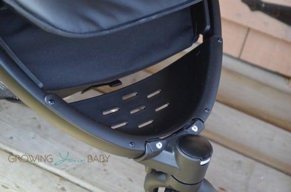 Peg Perego Book Cross Stroller- footrest