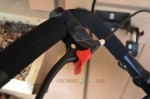 Peg Perego Book Cross Stroller - handlenar wheel lock