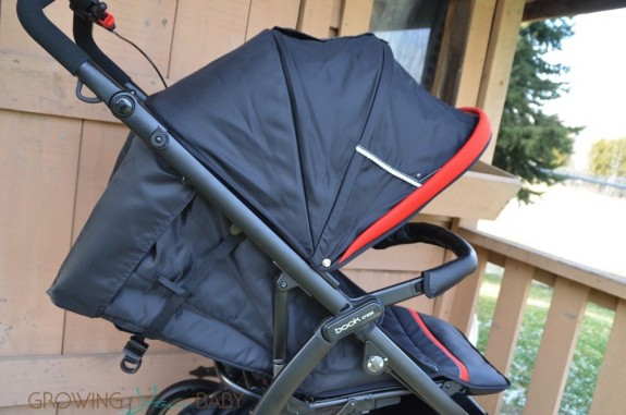 Peg Perego Book Cross Stroller - seat fully reclined