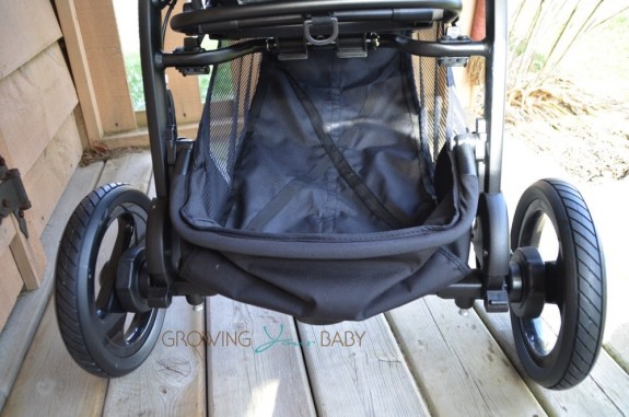 Peg Perego Book Cross Stroller - shopping basket