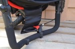 Peg Perego Book Cross Stroller  stroller resting on handle bar holders