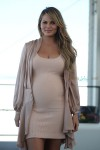 Pregnant Chrissy Teigen Attends The Sports Illustrated Swimsuit Festival  6