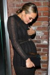 Pregnant Chrissy Teigen is a Glam-Mom-to-Be at Ouiai Haircare Party