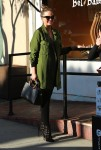 Pregnant Chrissy Teigen shops for her baby in Beverly Hills