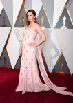 Pregnant Emily Blunt  at the 88th Annual Academy Awards