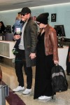 Pregnant Ginnifer Goodwin & Family Catch a Flight Out of LAX