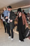 Pregnant Ginnifer Goodwin and Family Catch a Flight Out of LAX