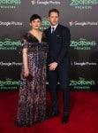 Pregnant Ginnifer Goodwin and Josh Dallas walk the red carpet at the Zootopia premiere