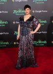 Pregnant Ginnifer Goodwin walks the red carpet at the Zootopia premiere