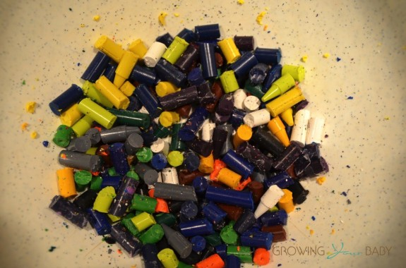 Recycled Crayon craft