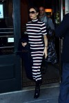 Victoria Beckham leaving Balthazar after lunch in New York City, New York