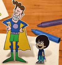 Have Your Kids Seen The Adventures of Napkin Man?  {$100 Visa Gift Card Giveaway}