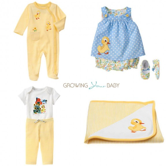 gymboree little golden books collabration - little ducky