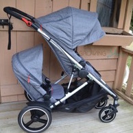 Video: Featured Review ~ phil&teds Voyager Inline Double Stroller