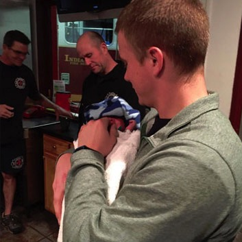 Baby surrendered IFD Station 30 in Indianapolis