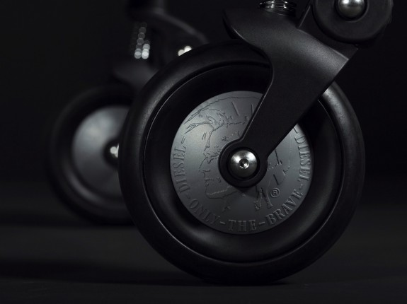 Bugaboo by Diesel Rock collection - wheels