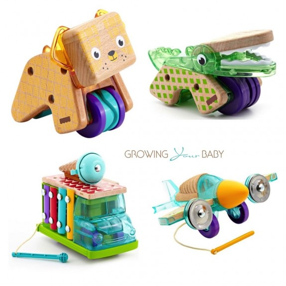 Fihser-Price wooden toys collection