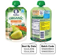 Gerber Issues Recall For Organic 2nd Foods Pouches
