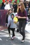 Isla Fisher Visits The Market With Olive, Elula & Montgomery Cohen