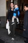 Jared Kushner Runs Errands In New York City with son Joseph