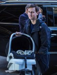Jared Kushner returns home after welcoming son Theodore