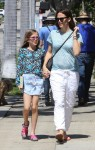 Jennifer Garner and daughter Violet visit the beauty salon