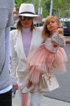 Khloe Kardashian attends Easter Sunday with niece Penelope Disick