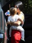 Kourtney Kardashian out in LA with son Reign Disick