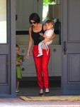 Kourtney Kardashian out in LA with son Reign and daughter Penelope Disick