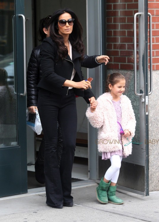Padma Lakshmi Steps Out In NYC With Her Daughter Krishna