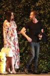Pregnant Anne Hathaway and Adam Shulman enjoy a date night in LA