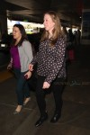 Pregnant Chelsea Clinton arrives at LAX on a flight from New York