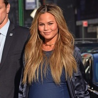 Chrissy Teigen Promotes Her New Cookbook in NYC