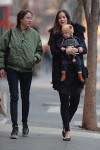 Pregnant Liv Tyler Goes Out For Lunch in NYC With Her Son Sailor