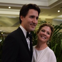 Sophie Grégoire Trudeau Speaks To Katie Couric About Breastfeeding Her 2-Year-Old Son