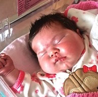 13.3 Lb. Baby Girl Born in Cape Breton
