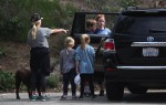 Reese Witherspoon hike the Santa Monica Hills with her kids Ava and Tennessee Toth