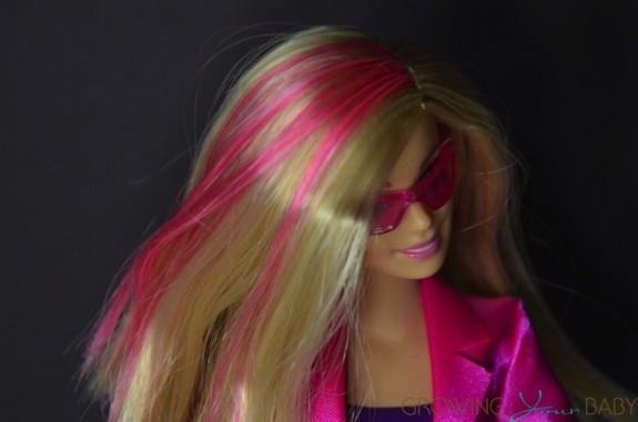 Secret Agent Barbie Spy Squad - pink hair