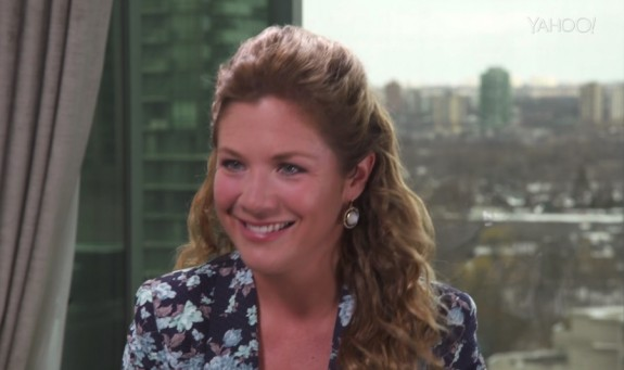 Sophie Gregoire Trudeau Speaks To Katie Couric