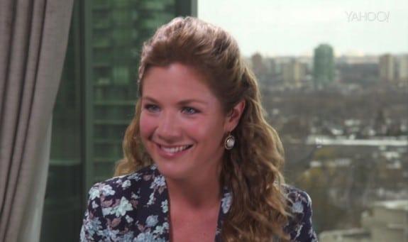 Sophie Gregoire Trudeau Speaks To Katie Couric