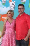 Tori Spelling and Dean McDermott at the Nickelodeon Kid's Choice Awards 2016
