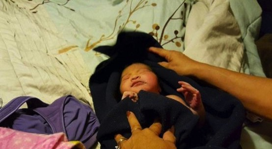 newborn abandoned in Mesa phoenix