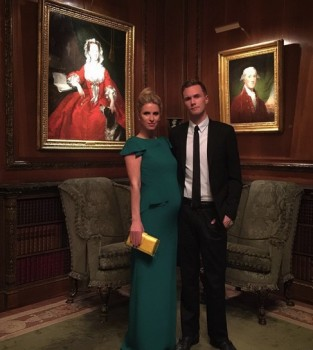 pregnant Nicky Hilton with brother Barron
