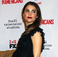 Mom-to-be Keri Russell Attends The Premiere of 'The Americans'