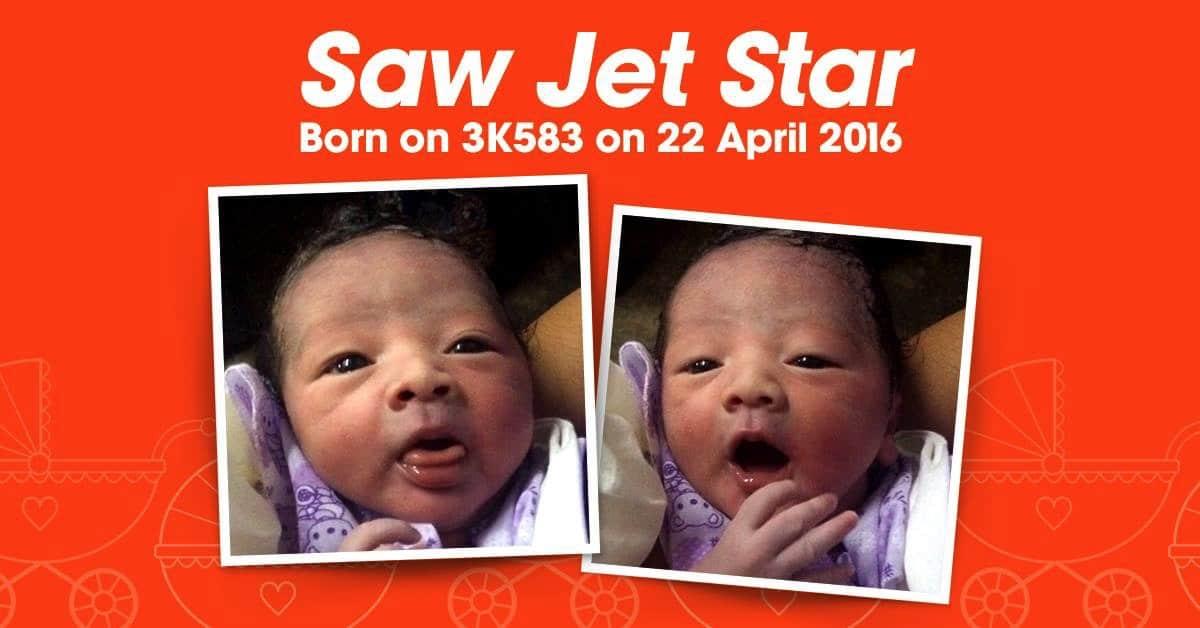 Baby born on Jetstar flight