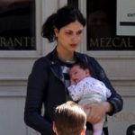 Benjamin McKenzie & Morena Baccarin Out With Their Daughter Frances T