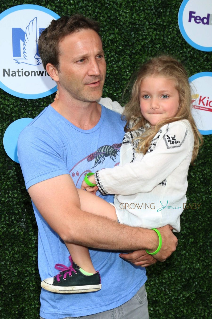 Breckin Meyer, Clover Meyer at Safe Kids Day - Growing Your Baby