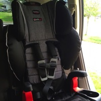 Featured Review ~ Britax Frontier ClickTight Harness To Booster Car Seat